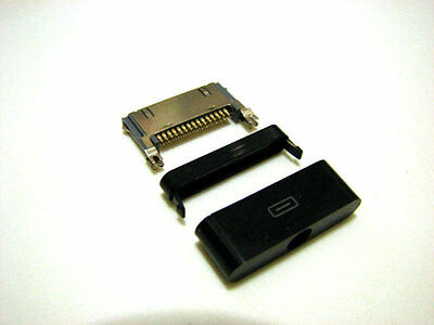 Ultra Slim iPod/iPhone/iPad Dock Connector (Gold Pins) for DIY