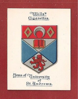 UNIVERSITY of St ANDREWS UNIVERSITY Coat of Arms Ever to Excel  original 1923