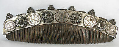 Antique Timor Ceremonial Tribal Comb  Hair Ornament