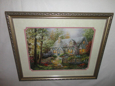 Home Interiors '' Country Cottage '' Picture Gorgeous  18.5'' x 22.5''