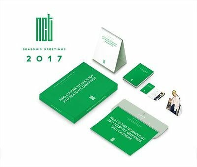 NCT 2017 Seasons Greetings Wall Calendar with Desk Calendar