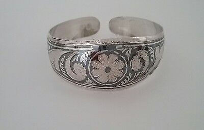 Russian Soviet (1987 )rare hallmark 875 silver cuff with original label