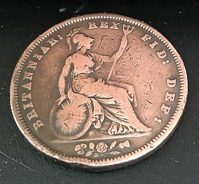 1831 William Iv Penny In Very Fine Condition