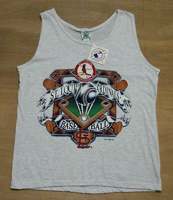 St. Louis Cardinals - Size L - Vtg 90's MLB Baseball Vest, Tank Top - New & Tags