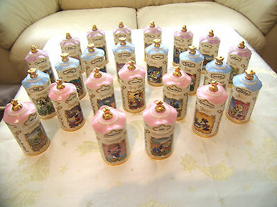 Disney Spice Jar 24 Piece Full Set Lenox 1995 Nice Spring, Summer, Birthday Gift