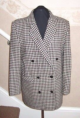 a58121b4429eb WOLFGANG KEISER COLETTE (Germany) WOOL MIX DOUBLE BREASTED LADIES JACKET UK  L