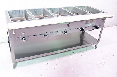 Used Duke Manufacturing 5 Comp Gas Steam Table - 305M