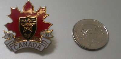 I.P.S.C. 1993 International Practical Shooting Confederation Of Canada Lapel Pin