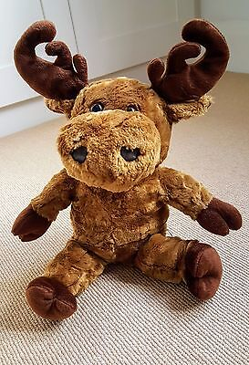 Genuine Saab Plush Cuddly Moose Toy - Turns Into A Car! Very Rare Vgc