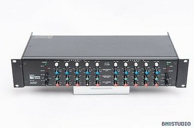 Meyer Sound CP-10 Stereo Parametric Equaliser, 5-Band + Filters, Vintage, Rare