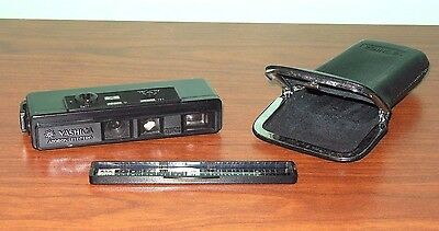 Vintage Yashica Atoron Electro Miniature Spy Camera With Case