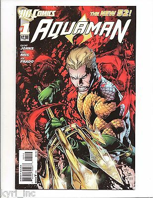 AQUAMAN #1 2nd PRINT VARIANT IVAN REIS COVER THE TRENCH GEOFF JOHNS NEW 52 DC L