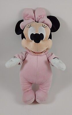 Disney Babies Baby Minnie Mouse Plush Doll Pink
