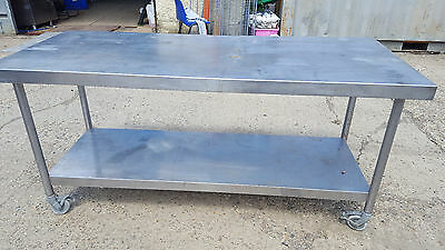 Stainless Steel Kitchen Table 180 X 75