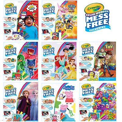 Crayola Colour Wonder 11 Options To Choose - FAST & FREE DELIVERY