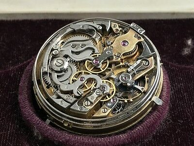 LeCoultre RMCSQ minute repeater perpetual calendar chrono pocket watch movement