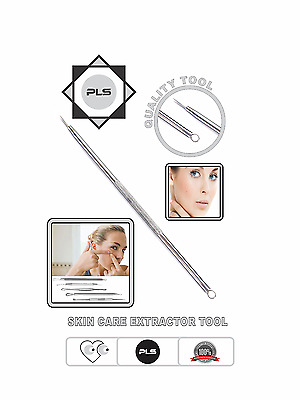 Blackhead Whitehead Remover, Single Loop and Lancet Extractor Skin Care Tool