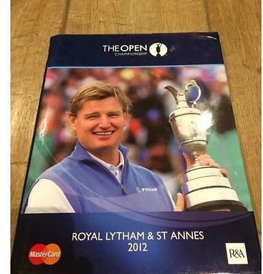 The Open- Royal Lytham & St Annes- 2012- Ernie Els- Official Book