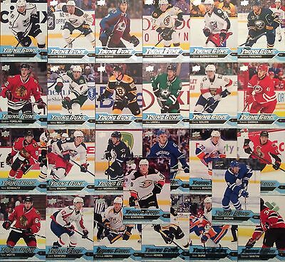 2016-17 Upper Deck Young Guns Serie 1 Set 26/50 Lot 16-17 Ud Yg Aberg Brown ...