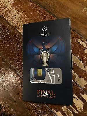 Box Pass Juventus - Real Madrid Final 2017 Uefa Champions League
