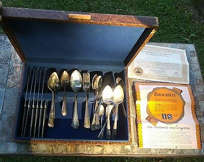 Mixed Lot WM Rogers & Bros IS Silverplate Silverware w/ Extras 38 Pcs Total