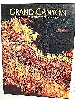 GRAND CANYON STORY BEHIND SCENERY by MERRILL BEAL~1983~HISTORY STUNNING PHOTOS