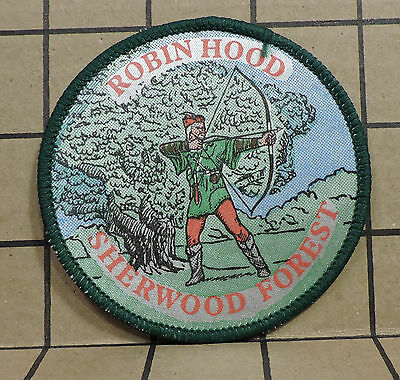 Robin Hood Sherwood Forest Patch P7