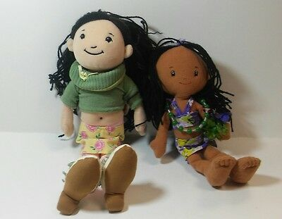 The manhattan Toy Co Corduroy girls Natalys plush doll and friend