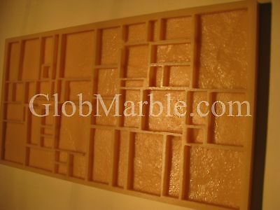 Concrete Mold Veneer Mosaic Mould MS 831. Concrete Wall Tile Rubber Stone Form