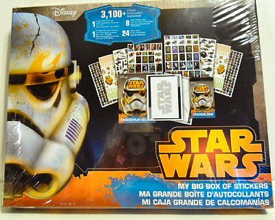 Star Wars The Force Awakens 3100 Stickers New Factory Sealed