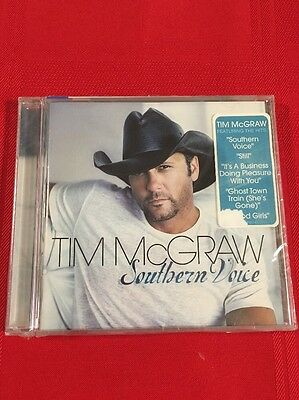 Tim McGraw Southern Voice CD Free Shipping F15