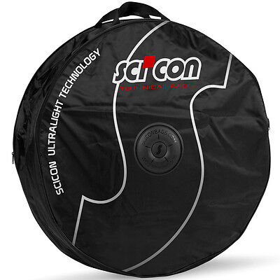 SciCon Double Wheel Bag with External Shields Bicycle Wheel Transport