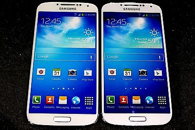 Lot of 2 Samsung Galaxy S4 Non-Working Display Dummy Phone DISPLAY PURPOSES ONLY