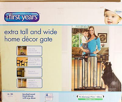3 x Child safety gates - 'the first years - extra tall and wide'