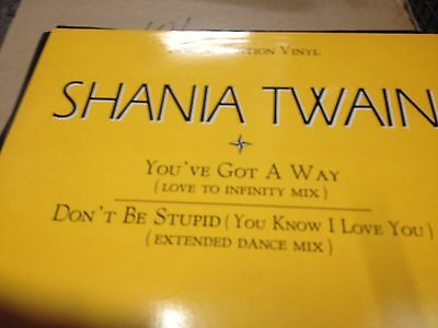 "Shania Twain ‎– You've Got A Way / Don't Be Stupid - 12"" pro"