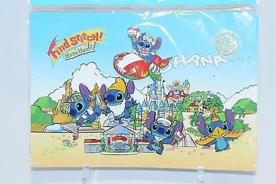 Disney Find Stitch Hana Hou Pin Rally Set of 5 in Japan Tokyo Disney Resort Le