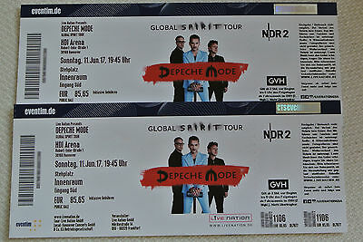2 tickets depeche mode hannover innenraum ausverkauft eur 99 99. Black Bedroom Furniture Sets. Home Design Ideas