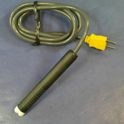 Fluke 80pk-3A Surface Temperature Probe, 32-500 degrees F, Very Good Condition