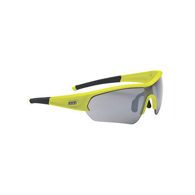 BBB BSG-43 Select Sport Sunglasses Interchangeable 3 Lenses Neon Yellow