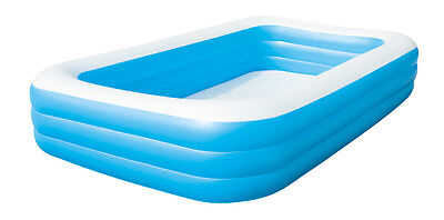 DELUXE BLUE RECTANGULAR FAMILY POOL 305 x 183 x 56cm / ABOVE GROUND POOL