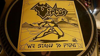 "VIRTUE We Stand To Fight 7"" Metal HOLY GRAIL Hugely Rare NWOBHM 1985 UK Private"