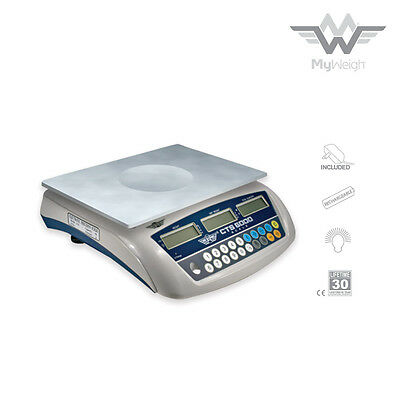 MyWeigh Digital Scale - CTS 6000 - Precision Weigh Scale - 6000g x 0.1g