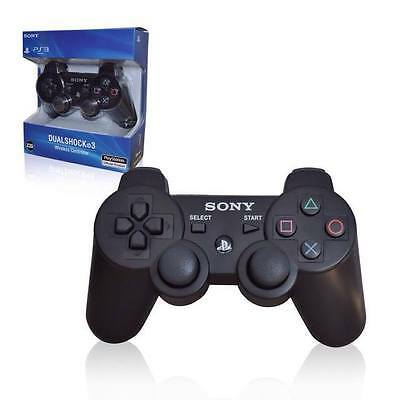 PS3 Wireless Controller Sony PlayStation 3 SIXAXIS DUALSHOCK 3 Black Controller