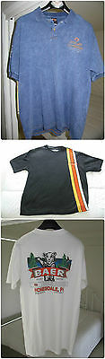 HARLEY DAVIDSON T SHIRTS 3 PACK Genuine HD in EUC size Au XL-XXL (US LARGE)