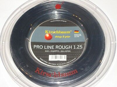 Kirschbaum Pro Line ROUGH Tennis String - Gauge 17 / 1.25mm