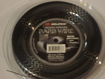 Solinco Barb Wire 200m Reel 16L/1.25mm Tennis String