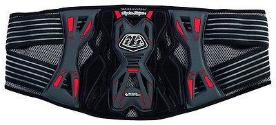 Troy Lee Designs/Shock Doctor KB3305 ERWACHSENE NIERENGURT GRAU Motocross MX