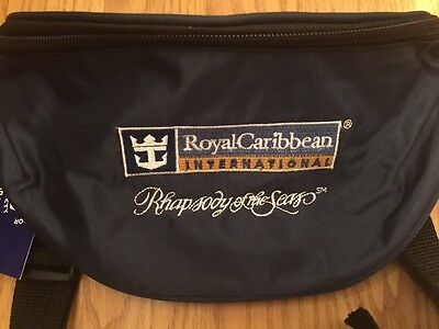 Royal Caribbean International Fanny Pack Adjustable Waist Pouch Navy Blue NWT