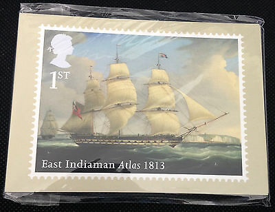 Royal Mail PHQ 381 Cards 2013 MERCHANT NAVY - Set of 11 - NEW AND SEALED
