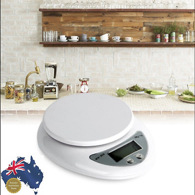 Kitchen Scales Digital 5kg Postal Scale Electronic Weight Balance 5000g/1g